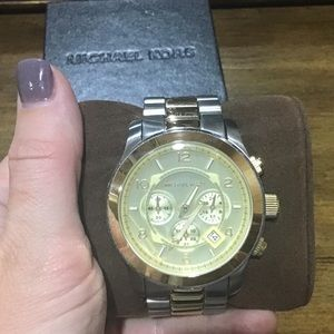 Michael Kors oversized watch!
